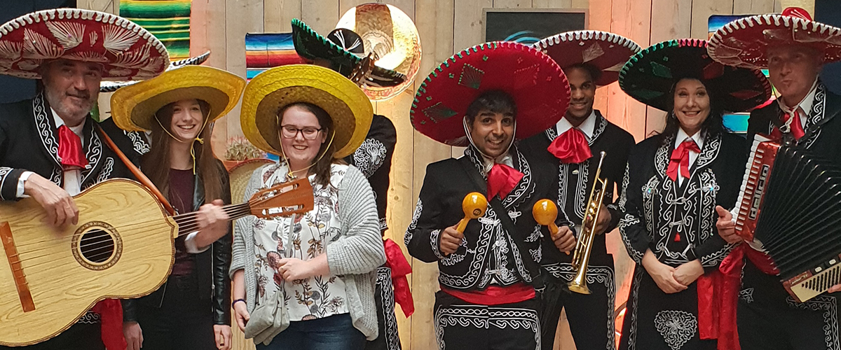 Grotere Mariachi Band